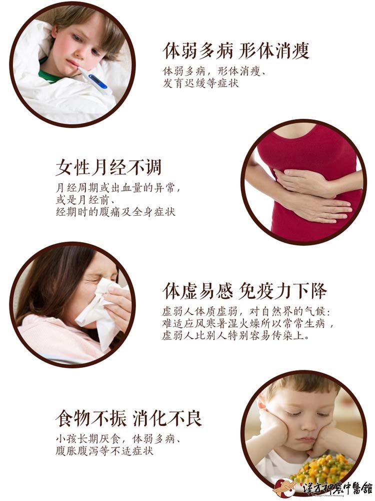 神农中医馆定制膏方为您解决体弱多病,形体消瘦,女性月经不调,体虚易感,免疫力下降,食欲不振,消化不良。